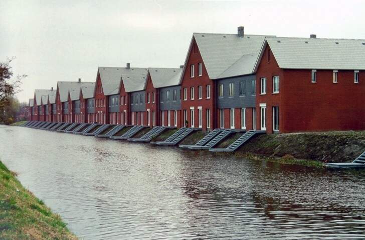 Groningen, woningen Tussendijken