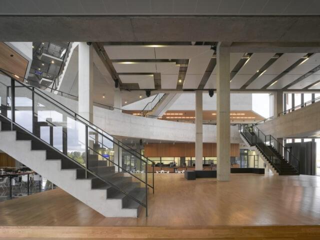 Interieur Forumgebouw Wageningen Universiteit