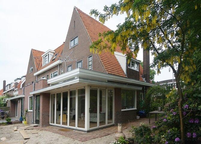 Uitbreiding woonhuizen Nijmegen