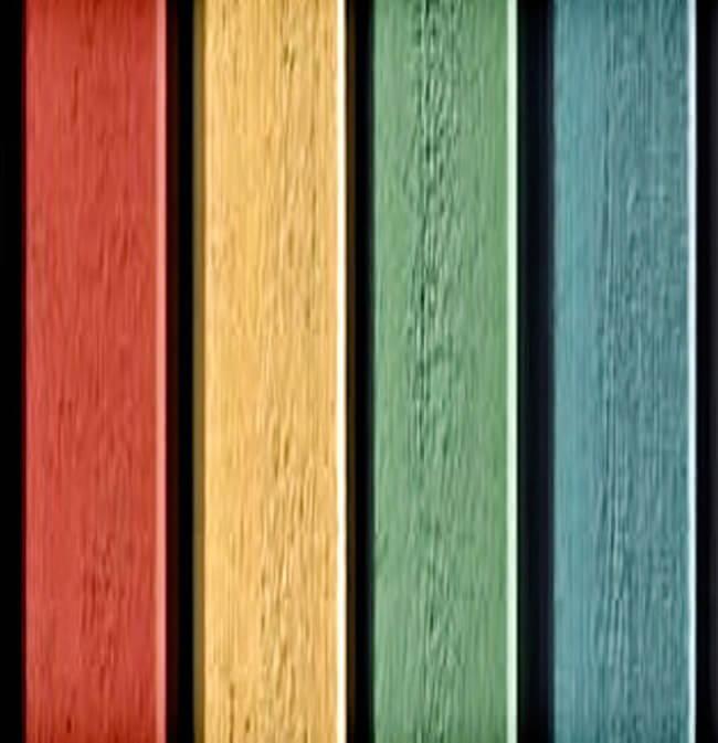 Kleurenspectrum gevelafwerking.